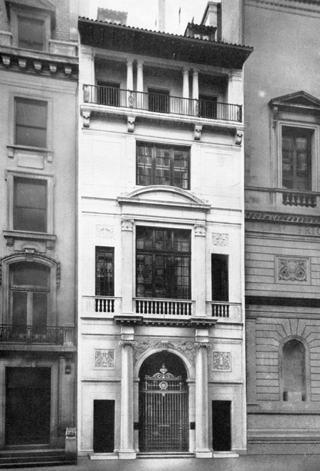 14 East 71st Street served as the Foundation headquarters from 1951 to 1980
