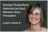 Danilyn Rutherford Selected as Next Wenner-Gren President